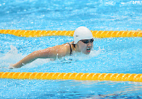 August 01, 2012..Liuyang Jiao competes in Women's 200m Butterfly Final at the Aquatics Center on day five of 2012 Olympic Games in London, United Kingdom.