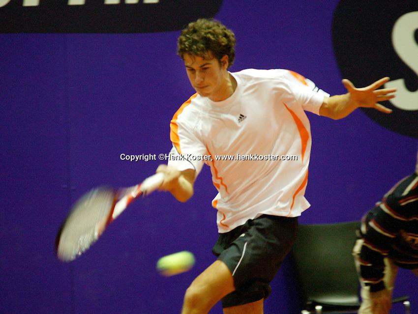 17-12-06,Rotterdam, Tennis Masters 2006, Robin Haase  ..