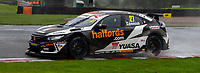 23rd August 2020; Oulton Park Circuit, Little Budworth, Cheshire, England; Kwik Fit British Touring Car Championship, Oulton Park, Race Day;  Dan Cammish Halfords Yuasa Racing driving a Honda Civic Type R  who finished third in race 1