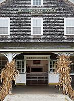 Martha's Vineyard Agriculture Society, West, Tisbury Massachusetts, USA