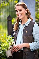 Duchess of Cambridge at Fakenham Garden Centre in Norfolk