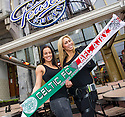 Roos Van Nugteren and Samantha Fondolmolen, waitresses at Teasers Bar, Amsterdam.