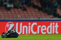 Sponsor UNICREDIT, Palloni Champions League, Balls <br /> Napoli 01-11-2017 Stadio San Paolo<br /> Football Calcio UEFA Champions League 2017/2018<br /> Napoli - Manchester City<br /> Group F<br /> Foto Cesare Purini / Insidefoto