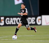 DC United midfielder Christian Gomez (10).  DC United tied Real Salt Lake 0-0 at  RFK Stadium, Saturday May 23, 2009.