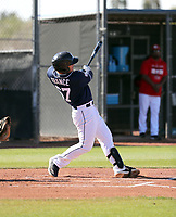 Ty France - San Diego Padres 2019 spring training (Bill Mitchell)