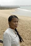 Anna Moi, Vietnamese writer in Saint Malo, 2007.