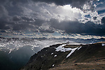 evening on Trail Ridge in Rocky Mountain National Park, Colorado, USA
