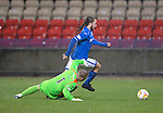 Partick Thistle v St Johnstone....14.12.13    SPFL<br /> Stevie May rounds keeper Scott Fox but goes to wide for a shot at goal.<br /> Picture by Graeme Hart.<br /> Copyright Perthshire Picture Agency<br /> Tel: 01738 623350  Mobile: 07990 594431