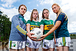 Kerry Ladies Gaelic football players are annoyed that will only have one game at Minor level in Munster as LGFA will not hold an All Ireland Minor competition this year and they are in the last year of minor age.  <br /> L to r: Cora Savage (Ballymac), Mary Collins (Rathmore), Danielle O'Leary (Rathmore) and Ellie McElligott (Ballymac).