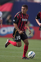 The MetroStars' Amado Guevara. D. C. United was defeated by the NY/NJ MetroStars 3 to 2 during the MetroStars home opener at Giant's Stadium, East Rutherford, NJ, on April 17, 2004.