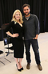 "Megan Hilty and Josh Radnor In Rehearsal with the Kennedy Center production of ""Little Shop of Horrors"" on October 11 2018 at Ballet Hispanica in New York City."
