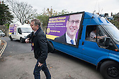 UKIP leader Nigel Farage and ex-Tory MP Mark Reckless, the UKIP candidate, campaign in Rochester before the Rochester and Strood by-election.