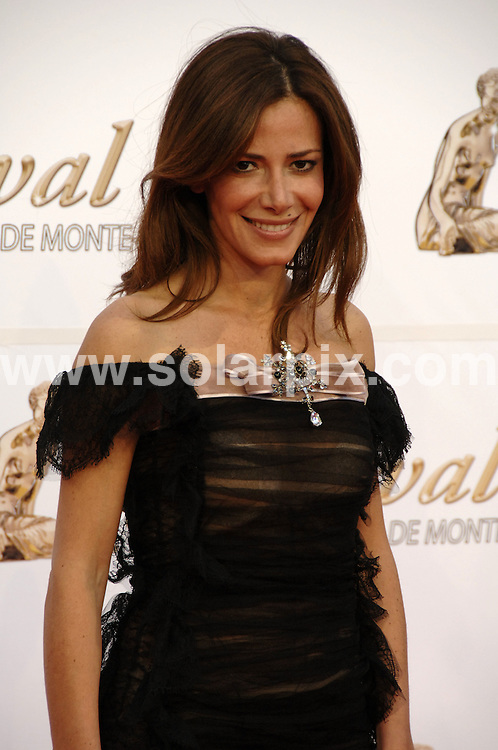 **ALL ROUND PICTURES FROM SOLARPIX.COM**.**SYNDICATION RIGHTS FOR UK AND SPAIN ONLY**.the opening night of the 49th Monte Carlo Television Festival held at Grimaldi Forum, Monte Carlo, Monaco. 7 June 2009..This pic: Elsa Fayer..JOB REF: 9195 PRT (Alminana) DATE: 06_06_2009.**MUST CREDIT SOLARPIX.COM OR DOUBLE FEE WILL BE CHARGED**.**ONLINE USAGE FEE GBP 50.00 PER PICTURE - NOTIFICATION OF USAGE TO PHOTO @ SOLARPIX.COM**.**CALL SOLARPIX : +34 952 811 768 or LOW RATE FROM UK 0844 617 7637**