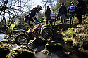 25/02/18<br /> <br /> Riders brave freezing conditions to tackle today's Staffordshire and Moorlands Trial held at Buttyfold Farm beneath Hen Cloud in an area of the Peak District known as The Roaches near Leek, Staffordshire. <br /> <br /> All Rights Reserved: F Stop Press Ltd. +44(0)1335 344240  www.fstoppress.com.