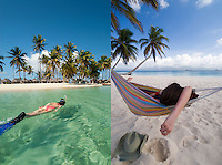 Snorkeling and hamock time, Isla Kuanidup, San Blas Islands, Panama