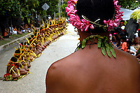 The very traditional Yapese during their festivities, before and during Yap Day, Yap Micronesia a small island in the Pacific between Guam and Palau