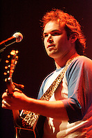 May 20 2005, Montreal (Qc) Canada <br /> <br /> Alexandre Belliard sing at Independance Plus Que Jamais concert at Metropolis to commemorate the 25th anniversary of the first Referendum on Quebec Independance