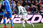 Takashi Inui of SD Eibar (R) in action during the La Liga 2017-18 match between Getafe CF and SD Eibar at Coliseum Alfonso Perez Stadium on 09 December 2017 in Getafe, Spain. Photo by Diego Souto / Power Sport Images