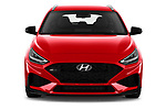 Car photography straight front view of a 2020 Hyundai i30 Sky-Line 5 Door Wagon Front View