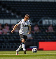 18th July 2021; Pride Park, Derby, East Midlands; Pre Season Friendly Football, Derby County versus Manchester United;  Phil Jagielka of Derby County