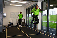 Aldo Kalulu of Swansea City in the gym during the Swansea City Training at The Fairwood Training Ground in Swansea, Wales, UK.  Wednesday 08 January 2020