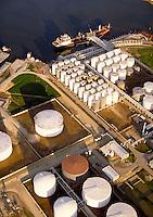 Oil storage tanks , Houston, Texas, TX.
