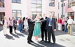 Le Cheile Handing Over of Keys of New School