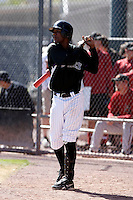 Hector Gomez - Colorado Rockies - 2009 spring training.Photo by:  Bill Mitchell/Four Seam Images