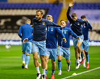 2nd October 2020; St Andrews Stadium, Coventry, West Midlands, England; English Football League Championship Football, Coventry City v AFC Bournemouth; Coventry City players stretching in the warm up