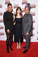 Andrea Simon, Ophelia Lovibond and Marai Larasi<br /> arriving for the Empire Awards 2018 at the Roundhouse, Camden, London<br /> <br /> ©Ash Knotek  D3389  18/03/2018