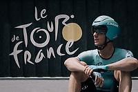 Andrei Grivko (UKR/Astana) waiting for his start in the iTT<br /> <br /> 104th Tour de France 2017<br /> Stage 20 (ITT) - Marseille › Marseille (23km)
