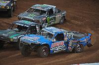 Mar. 20, 2011; Chandler, AZ, USA;  LOORRS pro two driver Robby Woods during round two at Firebird International Raceway. Mandatory Credit: Mark J. Rebilas-