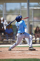 Tampa Bay Rays Devin Davis (52) during a Minor League Spring Training game against the Minnesota Twins on March 17, 2018 at CenturyLink Sports Complex in Fort Myers, Florida.  (Mike Janes/Four Seam Images)