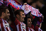 Players of Atletico de Madrid pose for a photo prior to their La Liga match between Atletico de Madrid and Real Madrid at the Vicente Calderón Stadium on 19 November 2016 in Madrid, Spain. Photo by Diego Gonzalez Souto / Power Sport Images