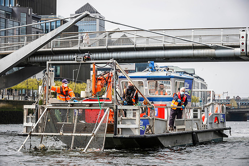 "Irish Nautical Trust has launched the ""Liffey Sweeper"