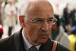 11/09/2011, André de Royer Dupré, trainer of Reliable Man