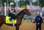 LOUISVILLE, KY - MAY 04: My Man Sam gallops in preparation for the Kentucky Derby at Churchill Downs on May 04, 2016 in Louisville, Kentucky. (Photo by Zoe Metz/Eclipse Sportswire/Getty Images)