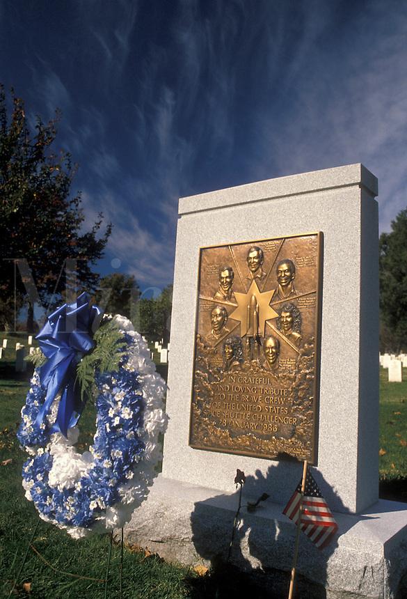AJ2258, Arlington, Virginia, The Challenger Memorial at Arlington National Cemetery.