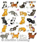 Kate, CUTE ANIMALS, LUSTIGE TIERE, ANIMALITOS DIVERTIDOS, paintings+++++,GBKM758,#ac#, EVERYDAY
