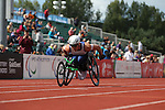IPC European Athletics Championship 2014<br /> Ben Rowlings (GBR)<br /> Men's 400m T34<br /> Swansea University<br /> <br /> 21.08.14<br /> ©Steve Pope-SPORTINGWALES