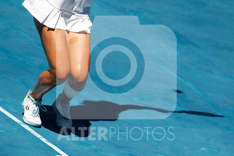 Ekaterina Makarova during Mutua Madrid Open 2012 match on may 10th 2012...Photo: Cesar Cebolla / ALFAQUI