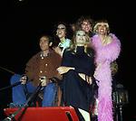 ARRIVO DI ANITA EKBERG IN CARROZZA<br /> INAUGURAZIONE VELENO CLUB - FESTA CALIGOLA ROMA 1980