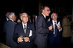 ARMANDO COSSUTTA CON GAVINO ANGIUS - PRESENTAZIONE LIBRO D'ALEMA PALAZZO BORGHESE ROMA 2001