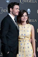 """LOS ANGELES - MAR 1:  Richard Madden, Jenna Coleman at the """"Cinderella"""" World Premiere at the El Capitan Theater on March 1, 2015 in Los Angeles, CA"""