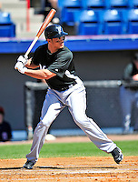 8 March 2010: Florida Marlins' outfielder Michael Stanton in action during a Spring Training game against the Washington Nationals at Space Coast Stadium in Viera, Florida. The Marlins defeated the Nationals 12-2 in Grapefruit League action. Mandatory Credit: Ed Wolfstein Photo