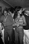 """PAOLO VILLAGGIO E MIMMA NOCELLI<br /> FESTA PRESENTAZIONE FILM """"KOLOSSAL""""<br /> MIRAGGIO CLUB FREGENR 1977"""