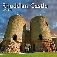 Images of Rhuddlan Castle Wales | Pictures & Images