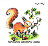 CUTE ANIMALS, LUSTIGE TIERE, ANIMALITOS DIVERTIDOS, paintings+++++,KL4593/1,#ac#, EVERYDAY ,sticker,stickers ,autumn,harvest
