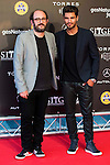 Borja Cobeaga and Maxi Iglesias during the red carpet of the opening ceremony of the Festival de Cine Fantastico de Sitges in Barcelona. October 07, Spain. 2016. (ALTERPHOTOS/BorjaB.Hojas)