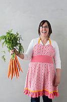 organic produce, carrots